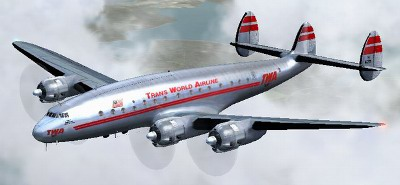 TWA Lockheed Constillation 049