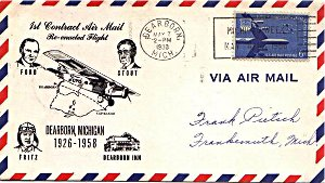 First airmail envolope