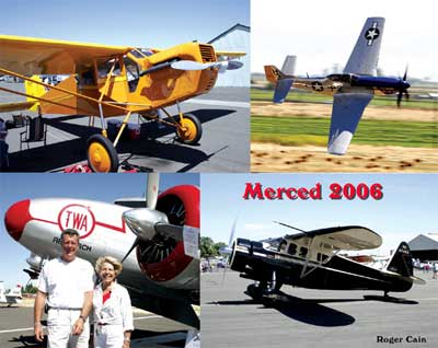 Merced 2006 Fly-In Postcard