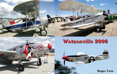 Watsonville Fly-In 2006 Postcard